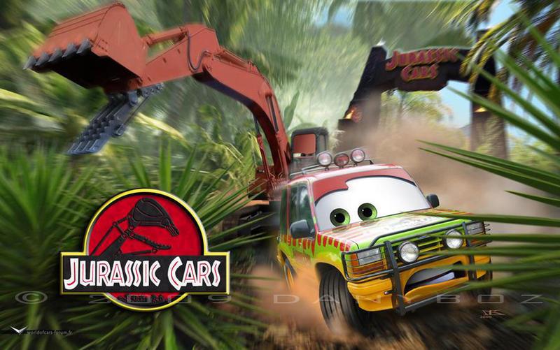 Cars   Jurassic Cars