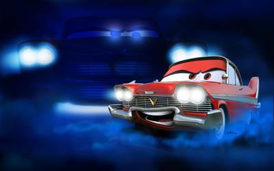 Cars - Carstine NoLogo by danyboz
