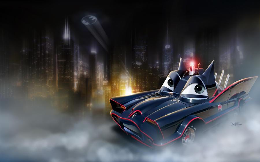 Cars Batmobile By Danyboz On Deviantart