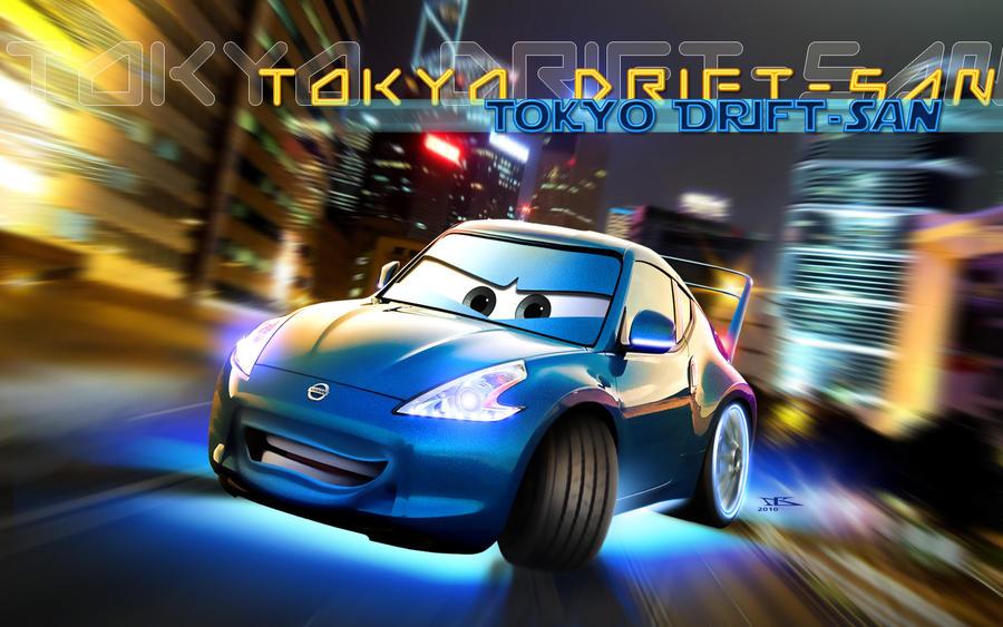 Cars Tokyo Drift San By Danyboz On Deviantart