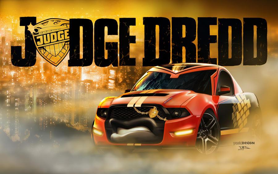 Cars | Judge Dredd by danyboz