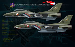 F/A19C Lightning II - Flying Tigers