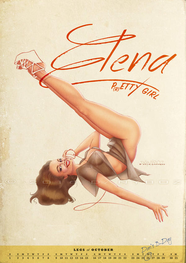Elena | P(r)etty Girl by danyboz