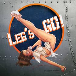 Leg's Go! | Nose Art by danyboz