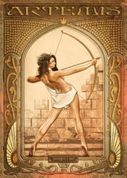 Artemis   Art Nouveau
