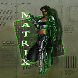 Matrix | Nose Art by danyboz