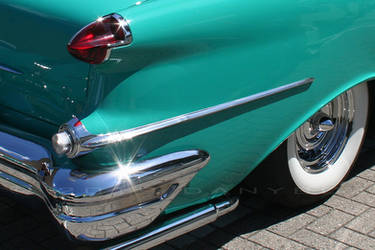 56 Olds Taillight