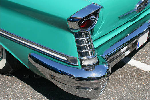 57 Olds Taillight