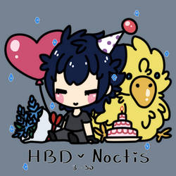 FFXV: HBD Noctis by Holly--Jolly