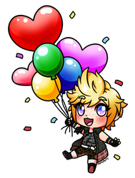FFXV: HBD Prompto by Holly--Jolly