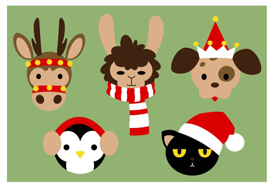 GD: Christmas Icons by Holly--Jolly
