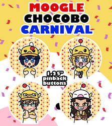 FFXV: Chocomog Festival Buttons