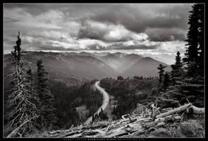 Hurricane Ridge II by dlacko