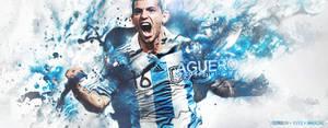 Sergio Aguero Argentina by oreidodribleGFX