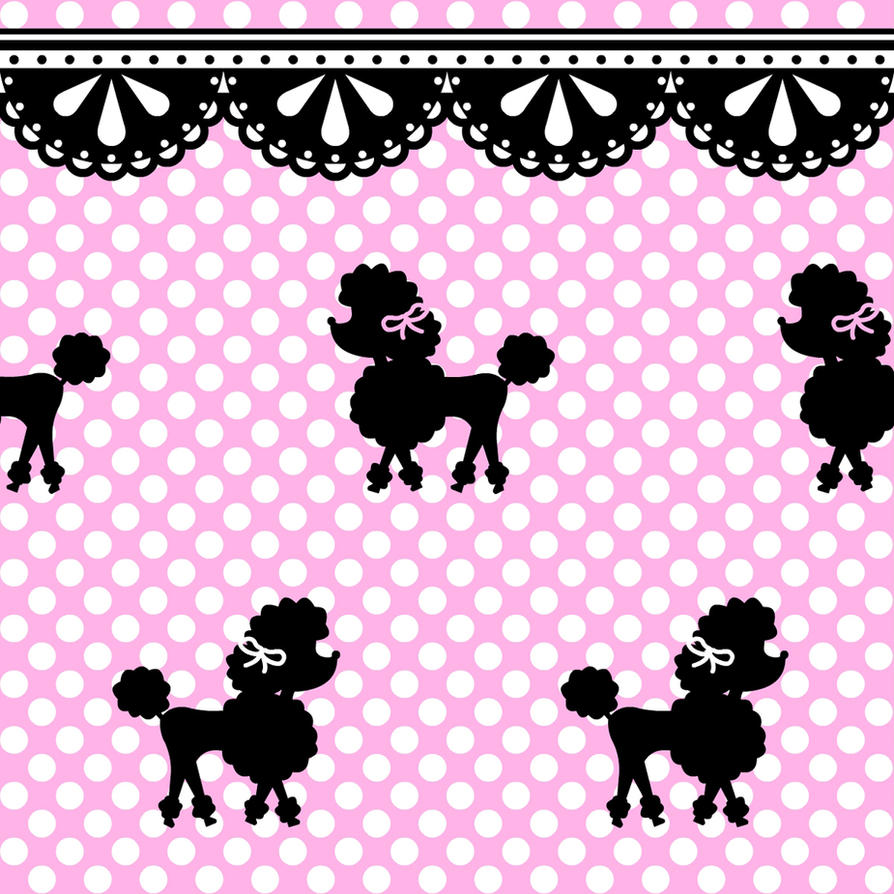 Poodle Polka Pattern Stock By Mezzochan On Deviantart