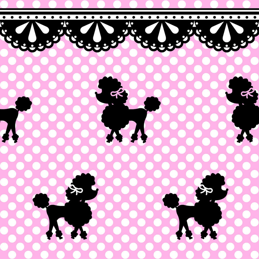 Poodle Polka Pattern Stock By Mezzochan On Deviantart