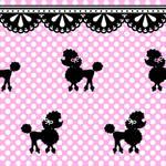 Poodle Polka Pattern - Stock