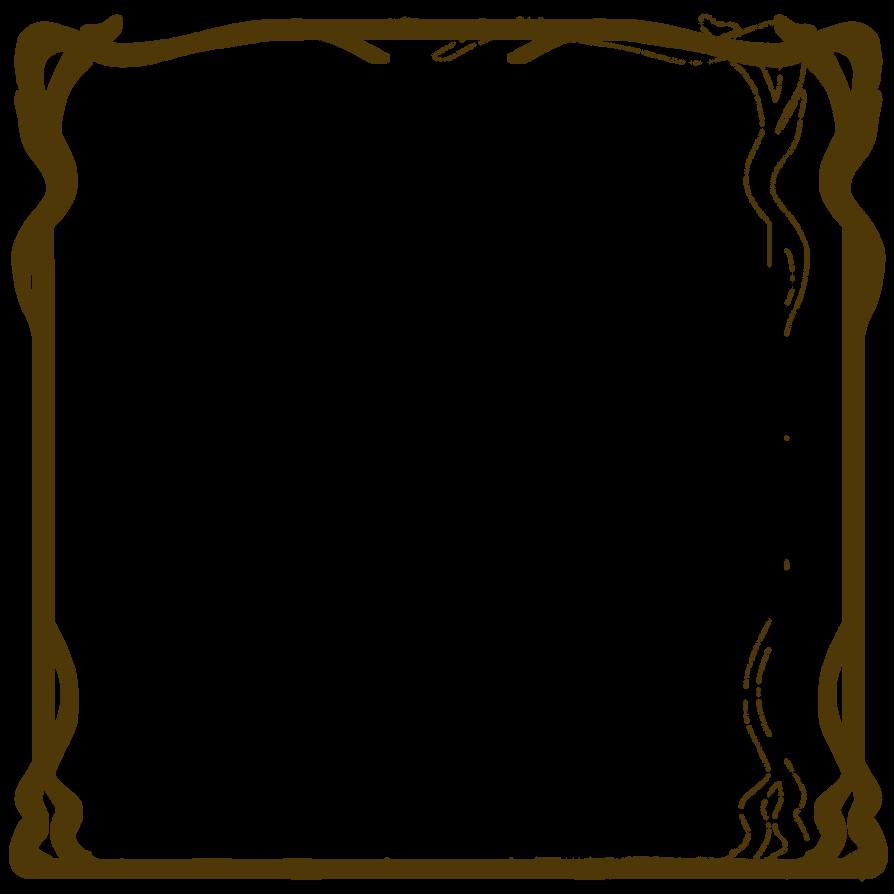 nouveau frame stock by mezzochan