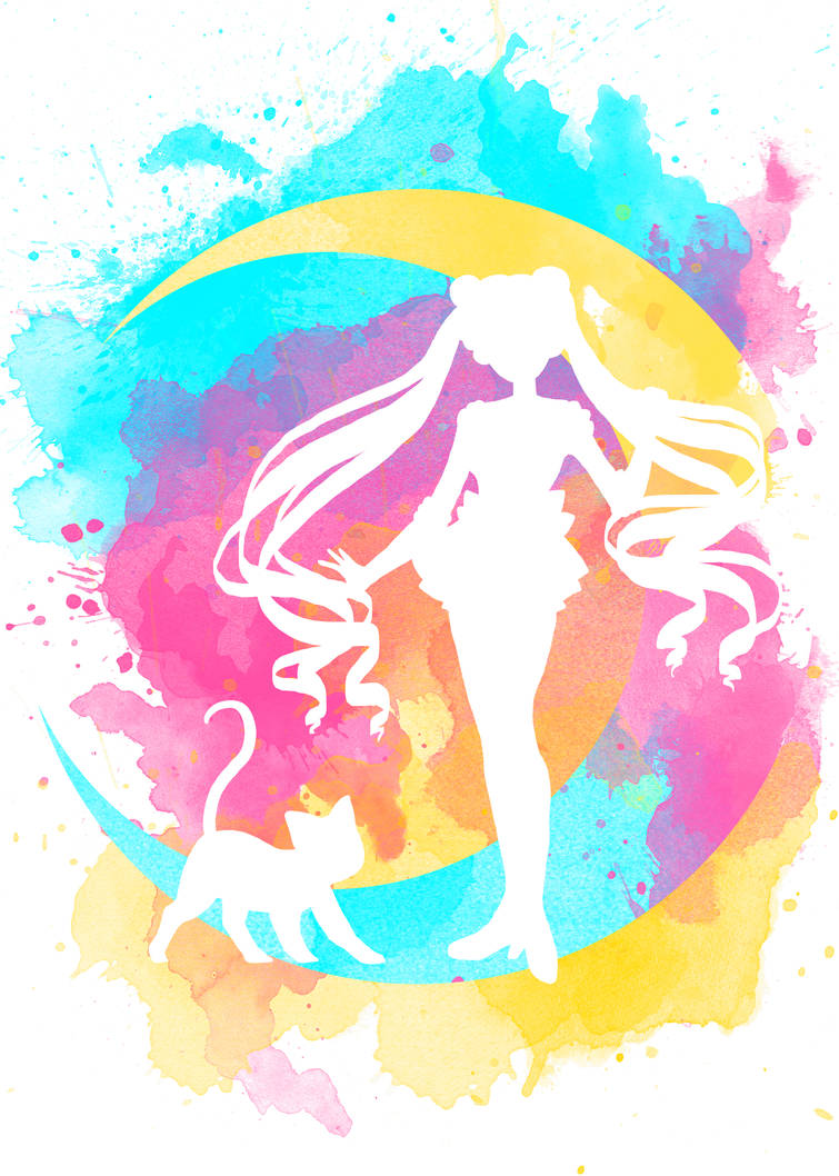 Happy Guardian Sailor Moon