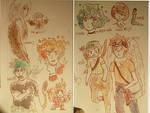 au idea doodles  by TinyLittleDeer