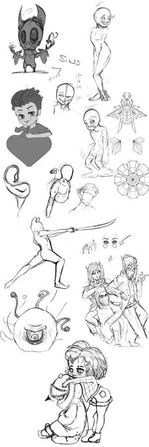 Sketch dump 2.YoOOOO00OO0O