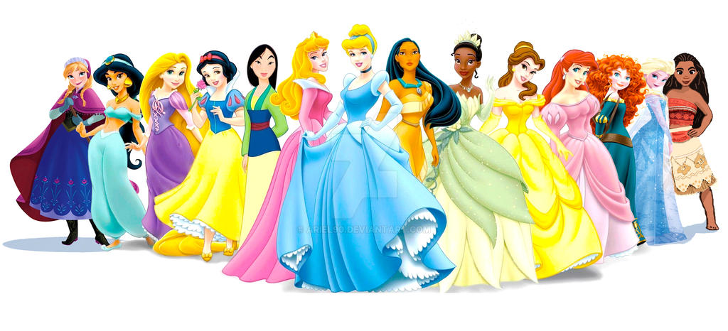 Image Result For All Disney Princess