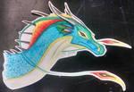 Margalo in Watercolor