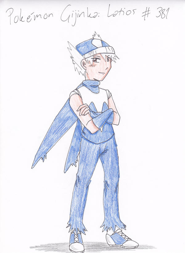Latios gijinka by InnuDoggy on DeviantArt