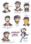 Nostalgia Critic in different styles