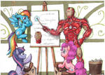 Iron Man at Equestria