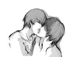 kiss by fongtin