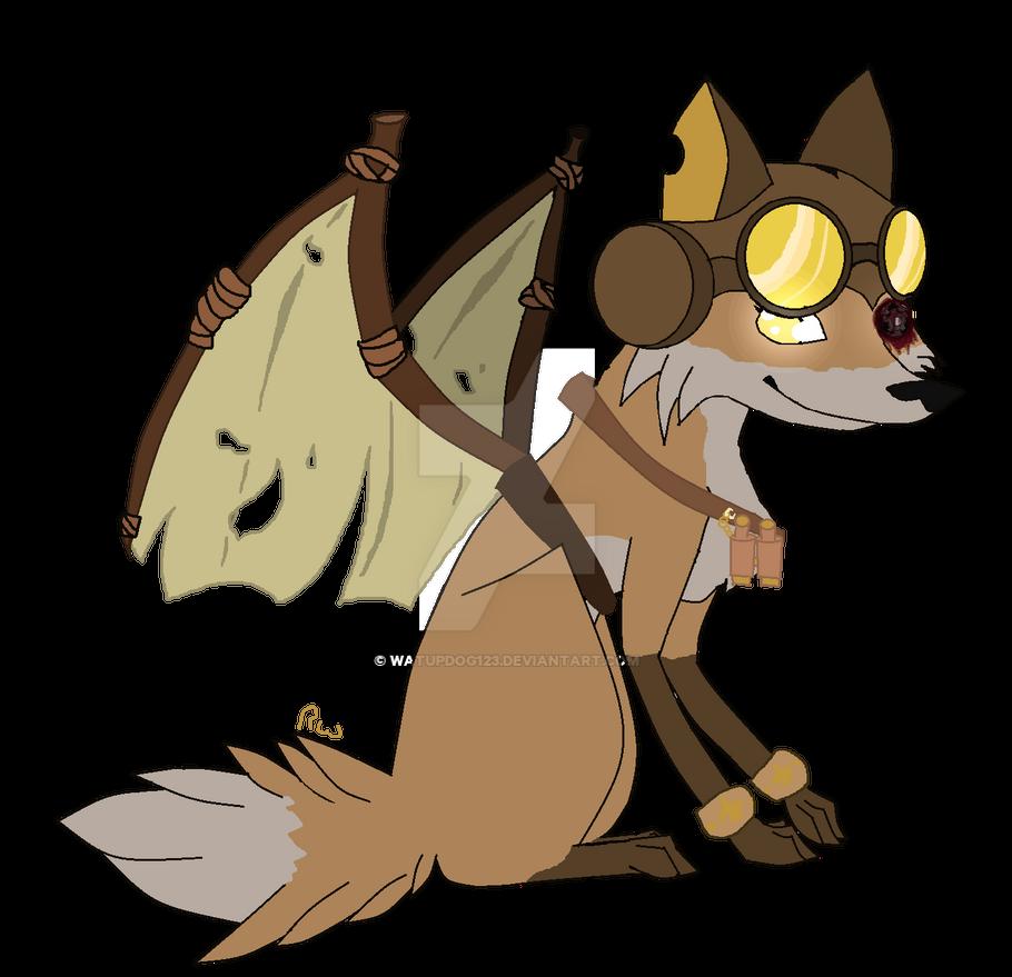 Steam punk fox (Animal Jam) by WatupDog123 on DeviantArt