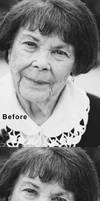 Wrinkle Removal (Reducing Wrinkles) in Photoshop