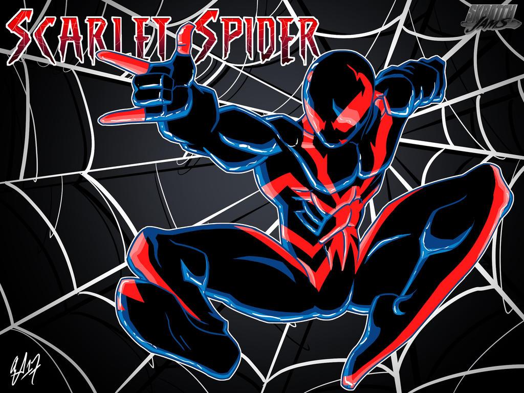 Scarlet Spider Redesign by AJFitzgerald