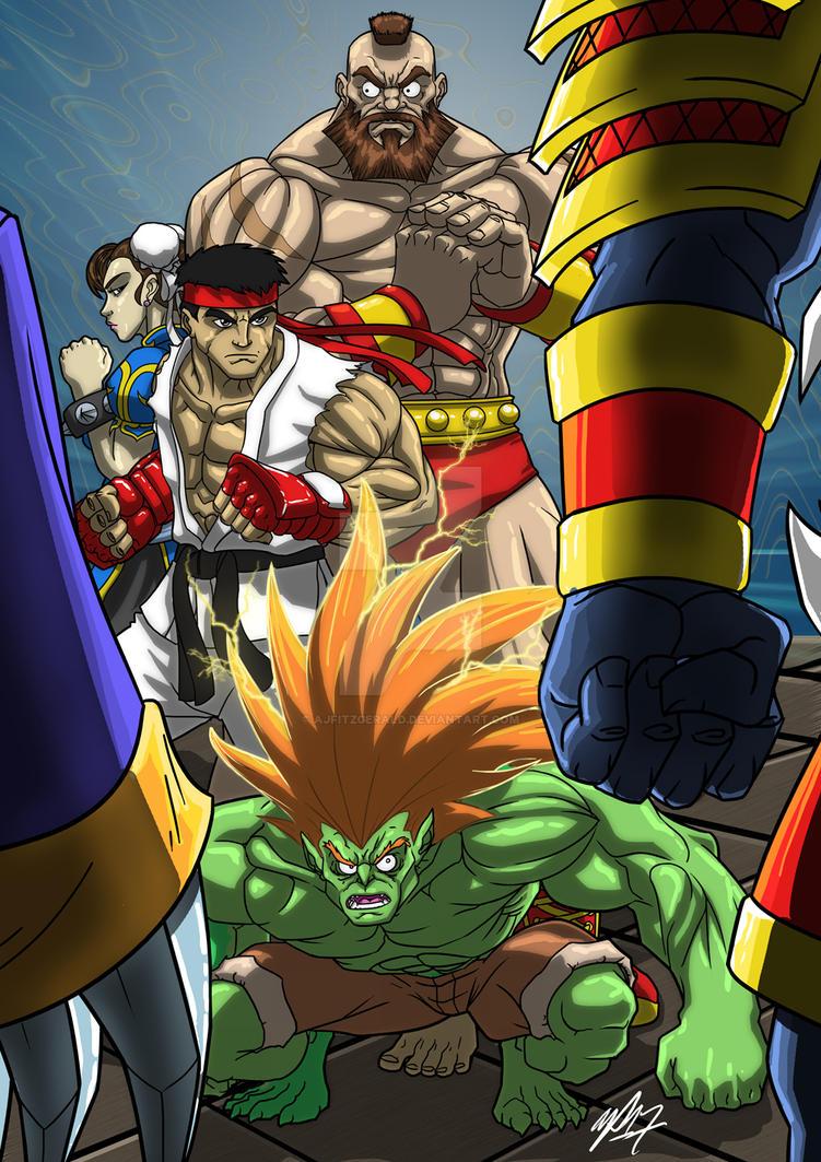 Streetfighter vs Darkstalkers by AJFitzgerald