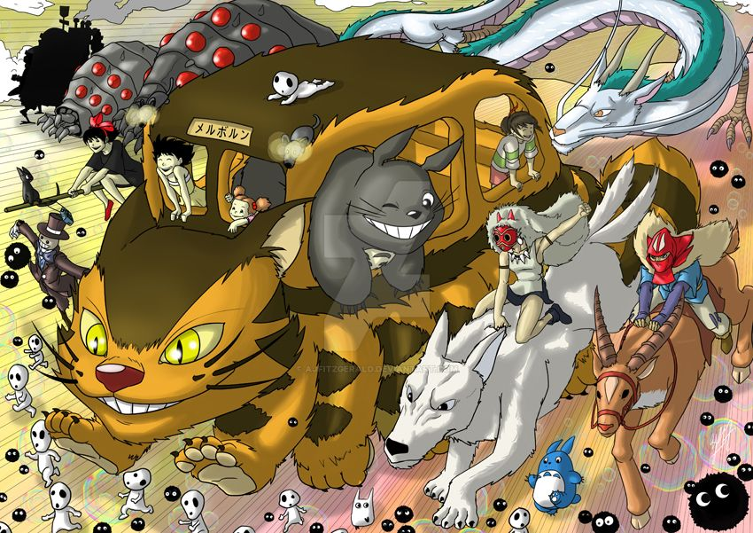 Ghibli by AJFitzgerald