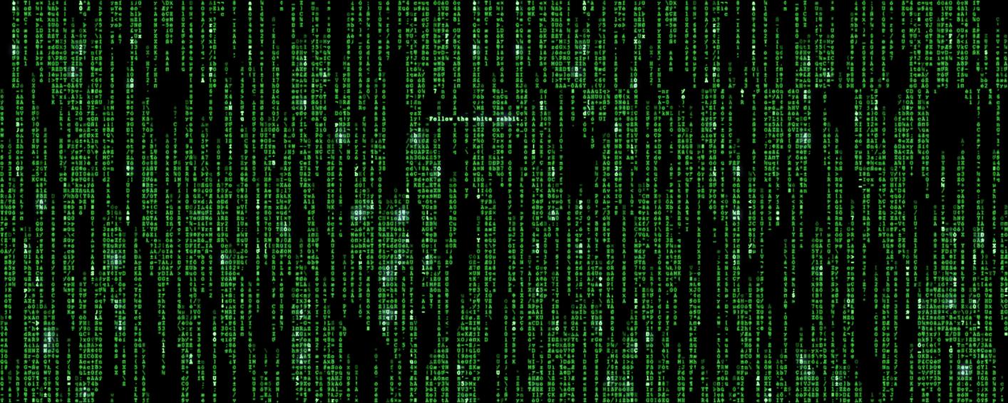 Matrix Dual Screen Wallpaper By Backbag
