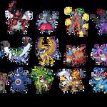 Randomized Pokemon Sprites by Dianamond