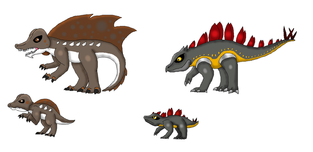 Rustic Fossils (Fakemon) by Dianamond