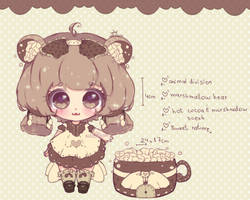 | custom | marshmallow bear flooffie by mauururu