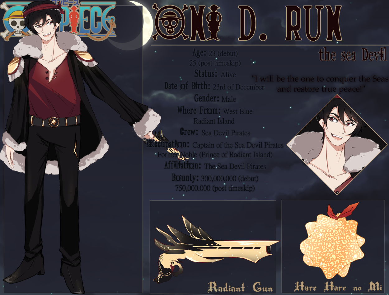 One Piece Oc Oni D Run By Mauururu On Deviantart