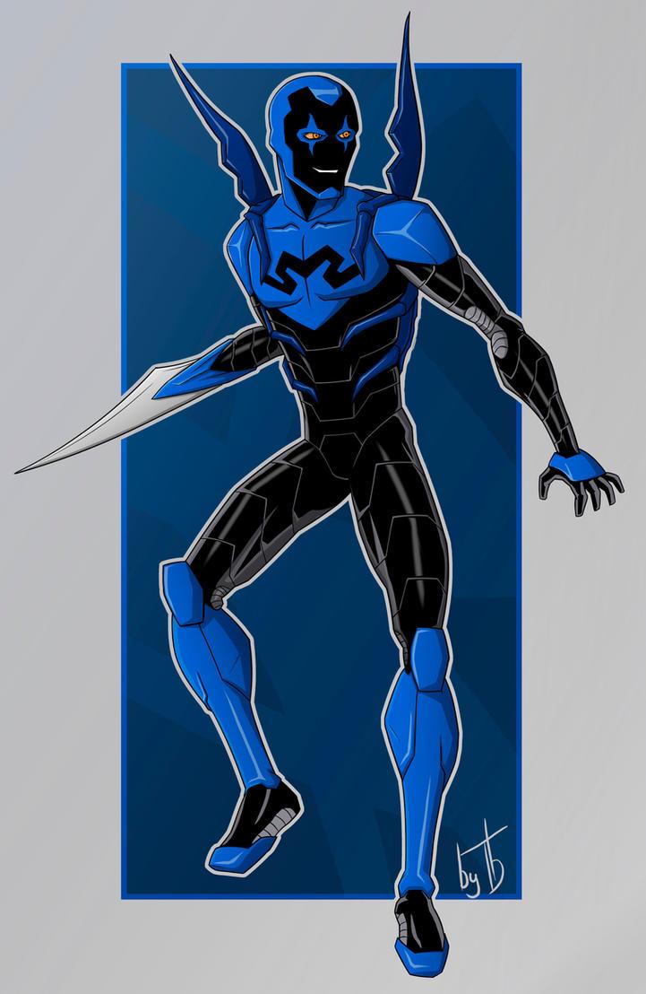Blue Beetle by IBlackWolf
