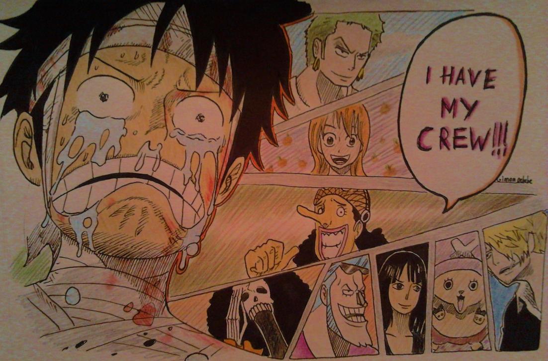 Luffy's despair by GSPARRowdeathlegend