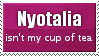 Nyotalia stamp by Mirasolla