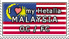 APH I love my Malaysia OC Stamp by megumar