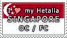 APH I love my Singapore OC Stamp by megumimaruidesu