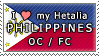 APH I love my Philippines OC Stamp by megumimaruidesu