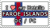 APH I love my Faroe Islands OC Stamp by megumimaruidesu