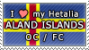 APH I love my Aland Islands OC Stamp by megumimaruidesu