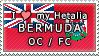 APH I love my Bermuda OC Stamp by megumar